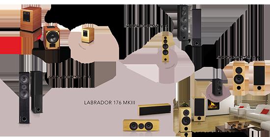 Acoustique Quality LABRADOR line