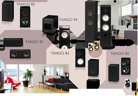 Acoustique Quality Tango line