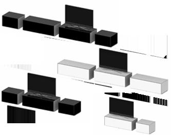 Budowa modułowa Modułowa konstrukcja umożliwia swobodne dopasowanie mebli według swoich osobistych wymagań, pozwala uwolnić Twoją wyobraźnię, to Ty decydujesz o ich zestawieniu. System luksusowych mebli łączy w sobie elegancję, wydajność i doskonałość techniczną.