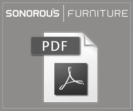 Katalog stolików sonorous z serii RX