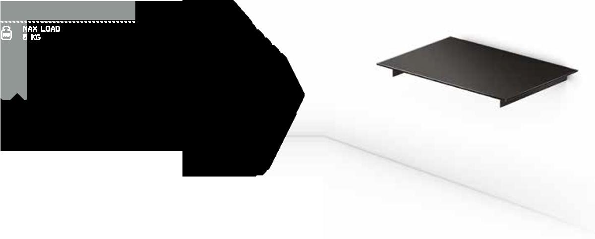 Sonorous PL 2611 to wysokiej jakości półka ścienna przeznaczona do sprzętu audio-video. Estetyczne wykończenie dopasuje się do każdego wnętrza, półka dostępna jest w czarnym kolorze, szkło lakierowane do spodu na czarno. Półka została wykonana z wysokiej jakości bezpiecznego bezodpryskowego hartowanego szkła, dzięki czemu ryzyko stłuczenia półki lub okaleczenia odłamkami szkła zostało ograniczone do minimum.