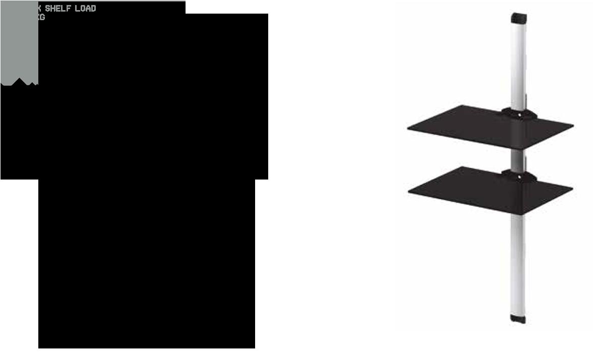 Sonorous PL2620 to wysokiej jakości półka ścienna przeznaczona do sprzętu audio-video. Składa się z aluminiowej listwy naściennej z systemem ukrywania kabli, dzięki czemu możesz doprowadzić okablowanie do swojego sprzętu w sposób niewidoczny. Estetyczne wykończenie dopasuje się do każdego wnętrza, półka dostępna jest w dwóch wariantach kolorystycznych, srebrna listwa z przeźroczystym szkłem oraz czarna listwa z lakierowanym na czarno szkłem. Półka została wykonana z wysokiej jakości bezpiecznego bezodpryskowego hartowanego szkła, dzięki czemu ryzyko stłuczenia półki lub okaleczenia odłamkami szkła zostało ograniczone do minimum.