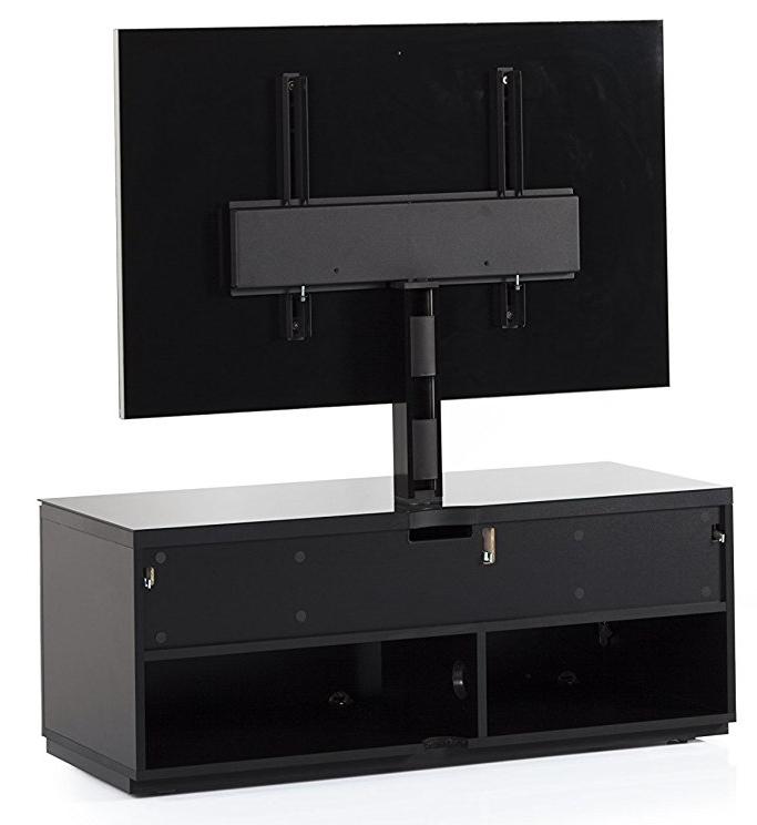 STA-111 Szafka audio video tył, system zarządzania kablami