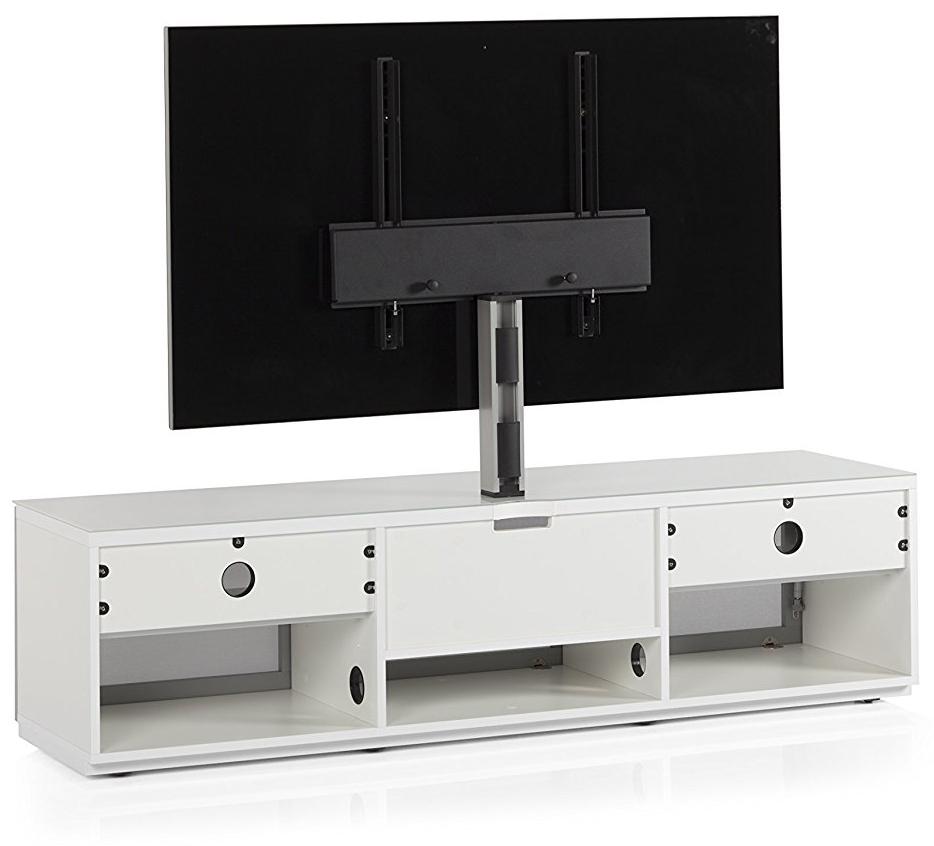 STA-161 Szafka audio video tył, system zarządzania kablami