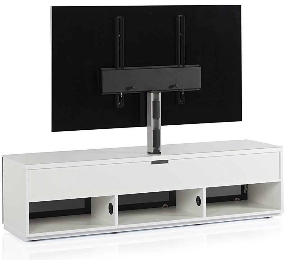 STA-261 Szafka audio video tył, system zarządzania kablami